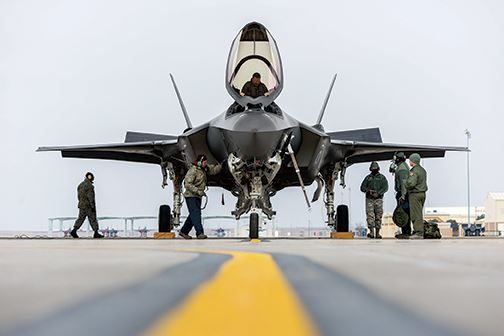 When HAFB F-35s are ready, they'll likely fight ISIS