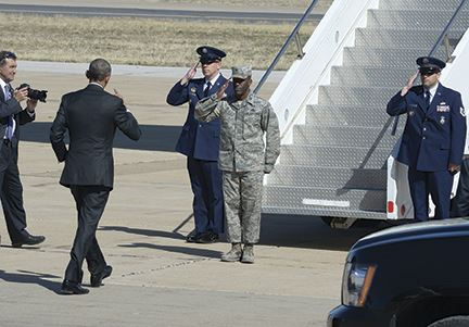 President's whirlwind tour over as quickly as it started