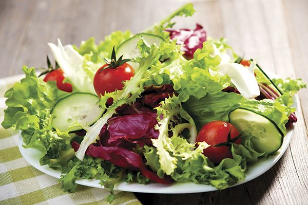 Exchange shoppers save eating healthy 'Salad Wednesdays'