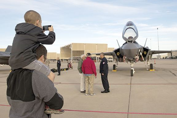 F-35 to touch down at air shows worldwide