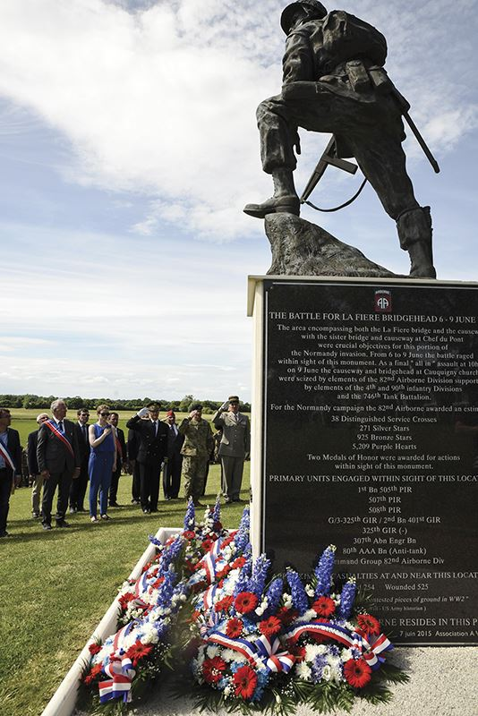 Ceremony marks 73rd Anniversary of D-Day