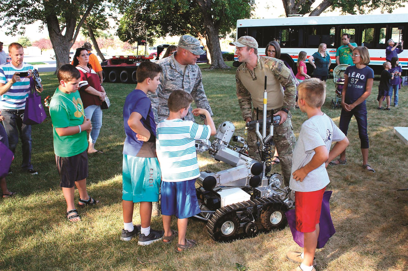 EOD takes part in National Night Out