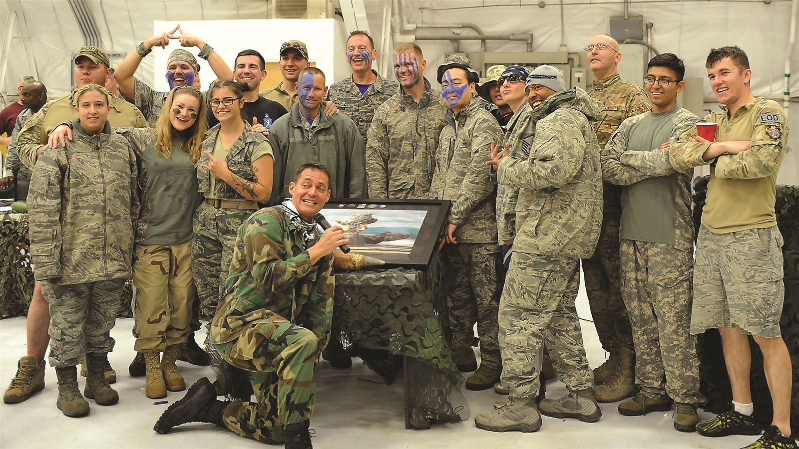 Combat dining-in delivers fun, AF heritage