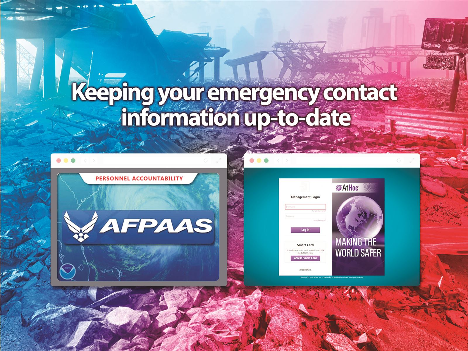 Employees urged to keep emergency contact information up to date