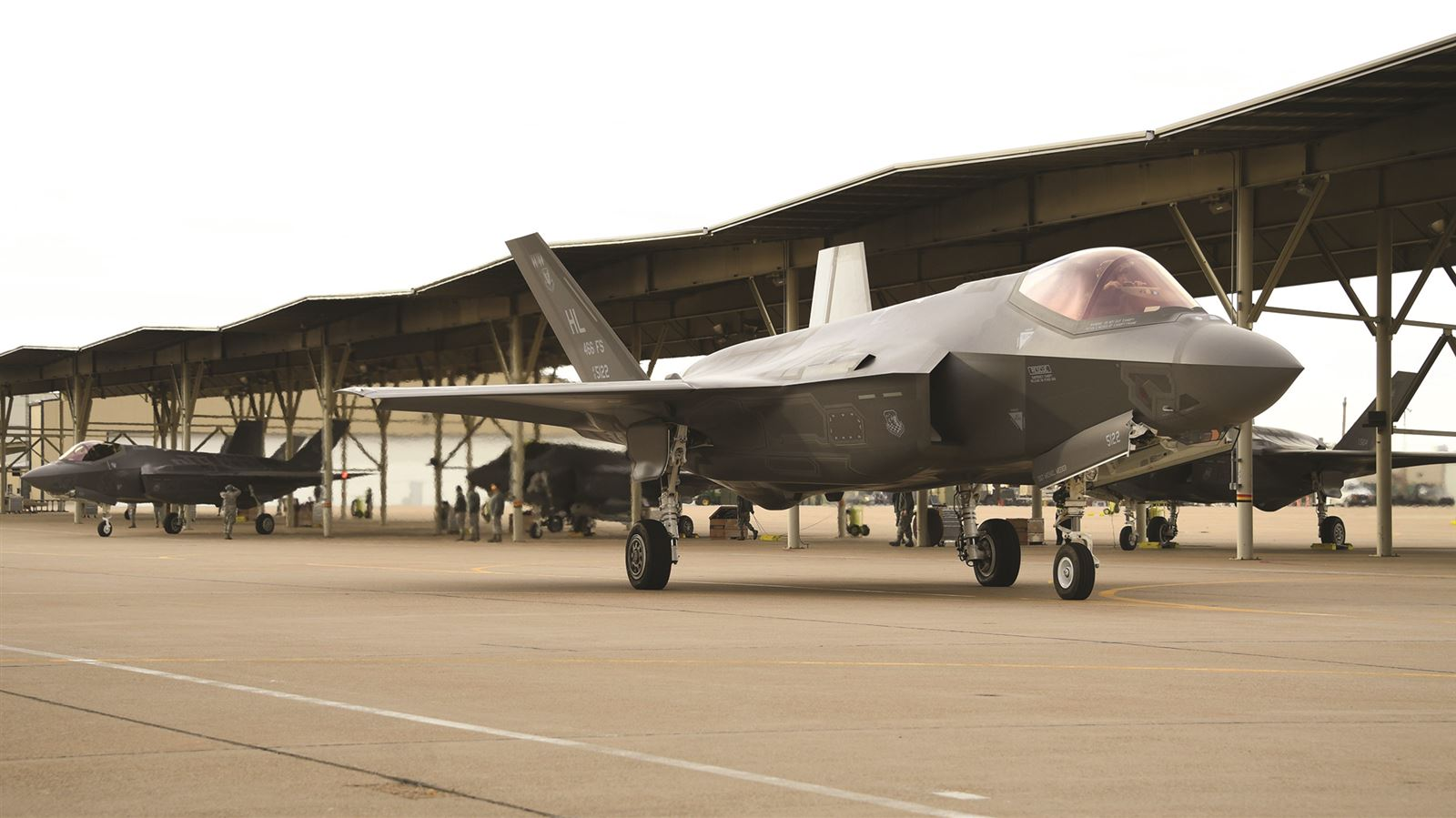 NOVEMBER 2017 – Hill F-35s deploy overseas for second time