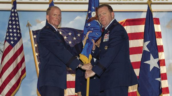 Scobee assumes command of AFRC