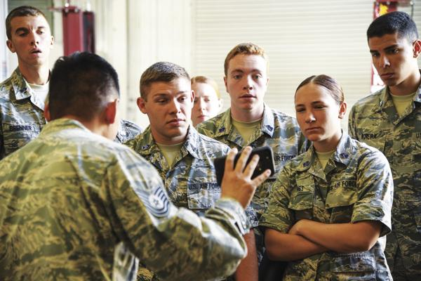 Soon-to-be officers get a taste of Air Force life