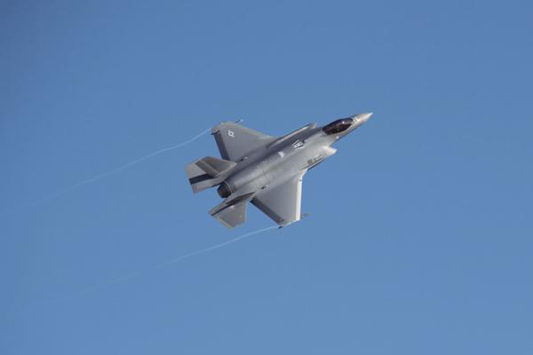 Record-setting first sortie for wing's newest F-35A