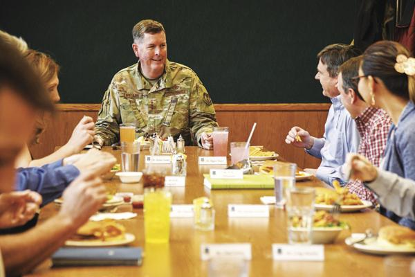 Headquarters AFSC relocates to Hill AFB for 'move the flag'