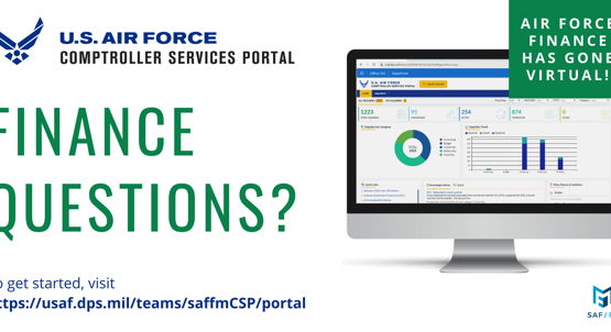 Comptroller Services Portal LIVE at Hill AFB